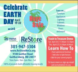Earth Day DIY Seminars