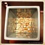 A great way to re-purpose wine corks! Cut them in half and place in bottom of planter to allow for proper drainage.