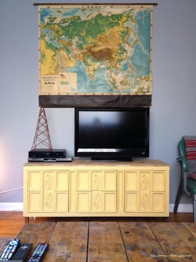 Yellow Entertainment Center 3