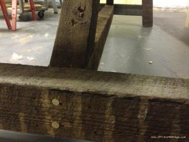 Restoration Hardware Dowel Detail