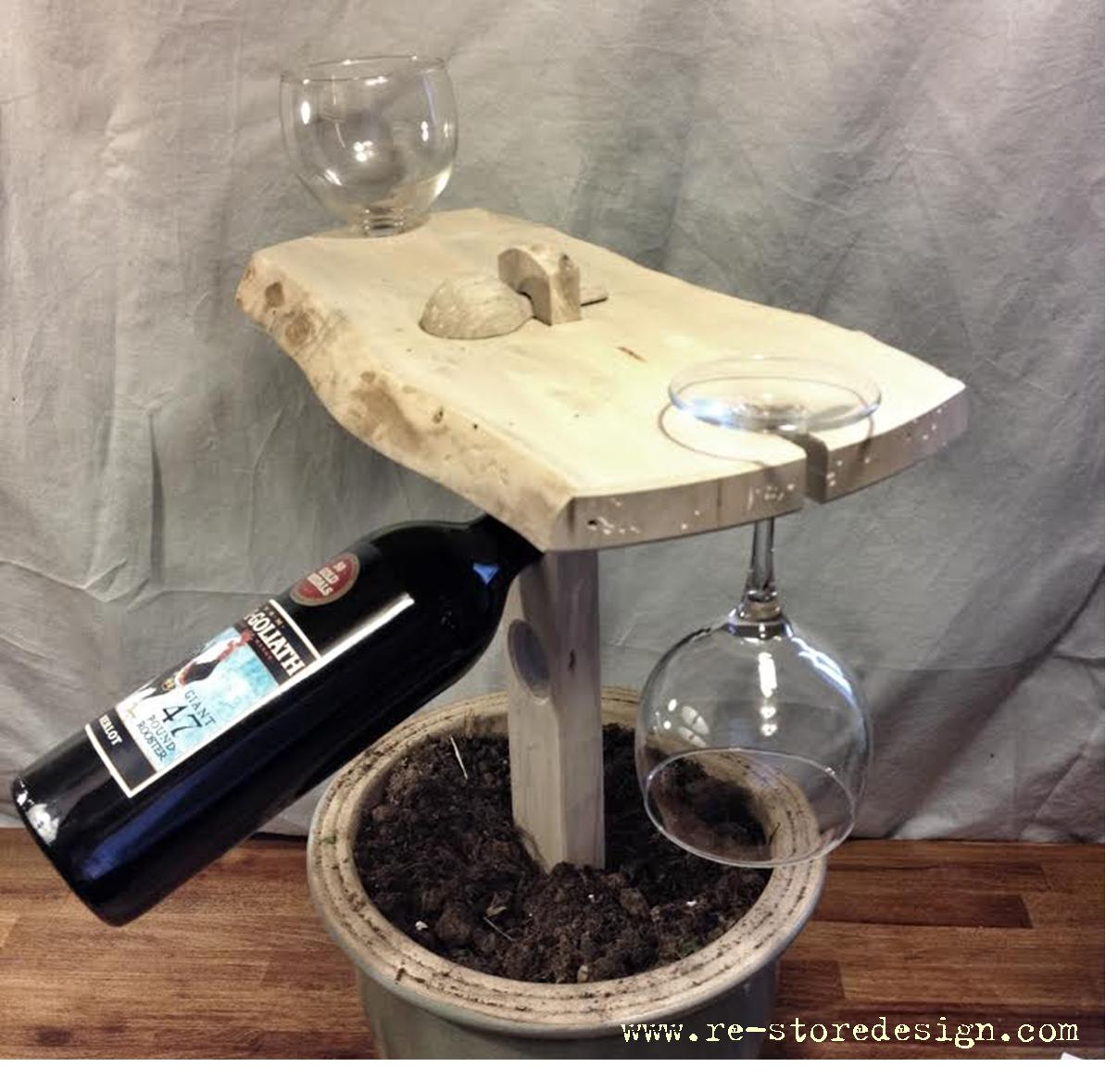 Portable Cheese Board and Wine Table 4