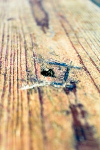 Reclaimed wood farm table washington dc row home 2
