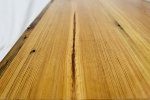 Reclaimed Heart Pine Coffee Table with Hairpin Legs - 3