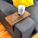 Reclaimed Heart Pine Couch Armwrap 1