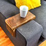 Reclaimed Heart Pine Couch Armwrap 6