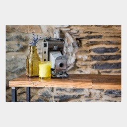 Reclaimed Heart Pine Wine Bar – Small