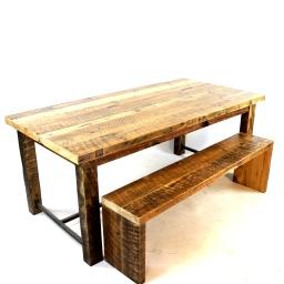The K Street Modern Industrial Farm Table