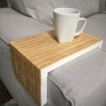 eco-friendly plywood - white