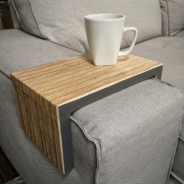 eco-friendly plywood - charcoal gray